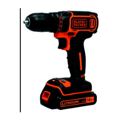 TRAPANI BLACK+DECKER LITIO